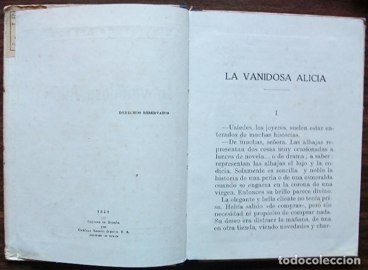 Libros: LA VANIDOSA ALICIA. 1941 - Foto 2 - 155248662