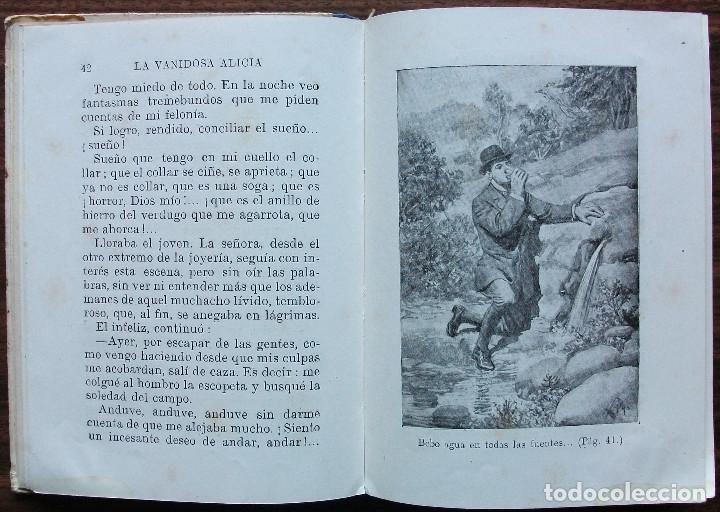 Libros: LA VANIDOSA ALICIA. 1941 - Foto 6 - 155248662