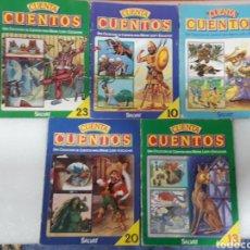 Libros: LOTE DE 5 CUENTA CUENTOS N°10,13,20,23,28. Lote 156754989