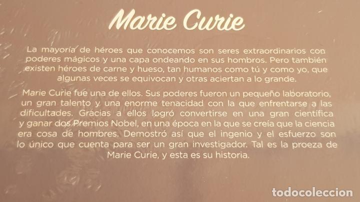 Libros: MARIE CURIE / COLECCIÓN: MIS PEQUEÑOS HÉROES / PRECINTADO. - Foto 2 - 158536298