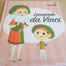 Livros: LEONARDO DA VINCI / COLECCIÓN: MIS PEQUEÑOS HÉROES / PRECINTADO.. Lote 158536418