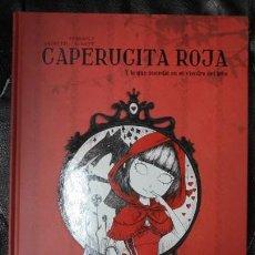 Livres: CAPERUCITA ROJA Y LO QUE SUCEDIO EN EL VIENTRE DEL LOBO ( TRADUCCION AL JAPONES ). Lote 162182242