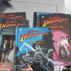 Livros: 5 LIBROS DE AVENTURAS EL JOVEN INDIANA JONES-EDITORIAL MOLINO. Lote 152948804