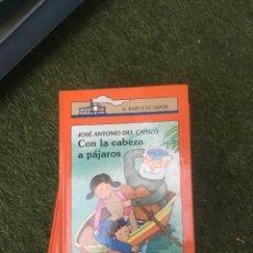 Libros: EL BARCO DE VAPOR CON LA CABEZA PÁJAROS. Lote 172179404