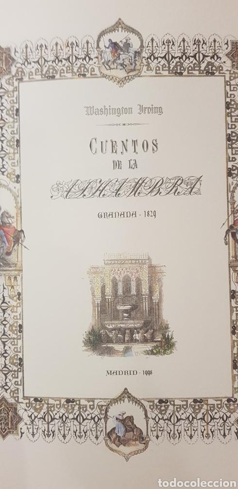 Libros: CUENTOS DE LA ALHAMBRA. - Foto 3 - 176899010
