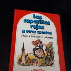 Libros: CUENTO LAS ZAPATILLAS ROJAS. BRUGUERA. Lote 177294387