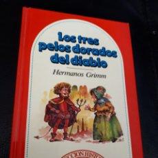 Libros: CUENTO LOS TRES PELOS DORADOS DEL DIABLO. Lote 177294520