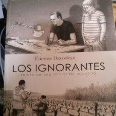 Libros: LOS IGNORANTES, ÉTIENNE DAVODEAU, LA CÚPULA EDICIONES.. Lote 178719397