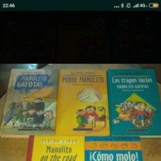 Libros: MANOLITO GAFOTAS 5 LIBROS. Lote 178909738