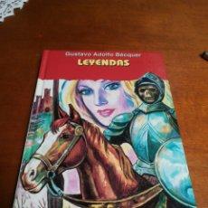 Libros: LIBRO GUSTAVO ADOLFO BÉCQUER LEYENDAS. Lote 179226227