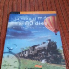 Libros: LA VOLTA AL MON EN 80 DIES. Lote 180161398