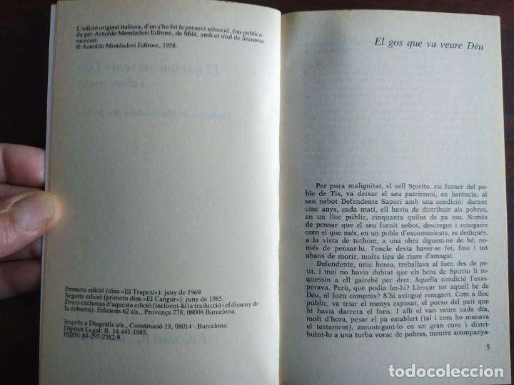 Libros: El gos que va veure Deu, Onze comptes de Dino Buzzati. La ironia crua i l'humanisme realista i - Foto 2 - 183078203