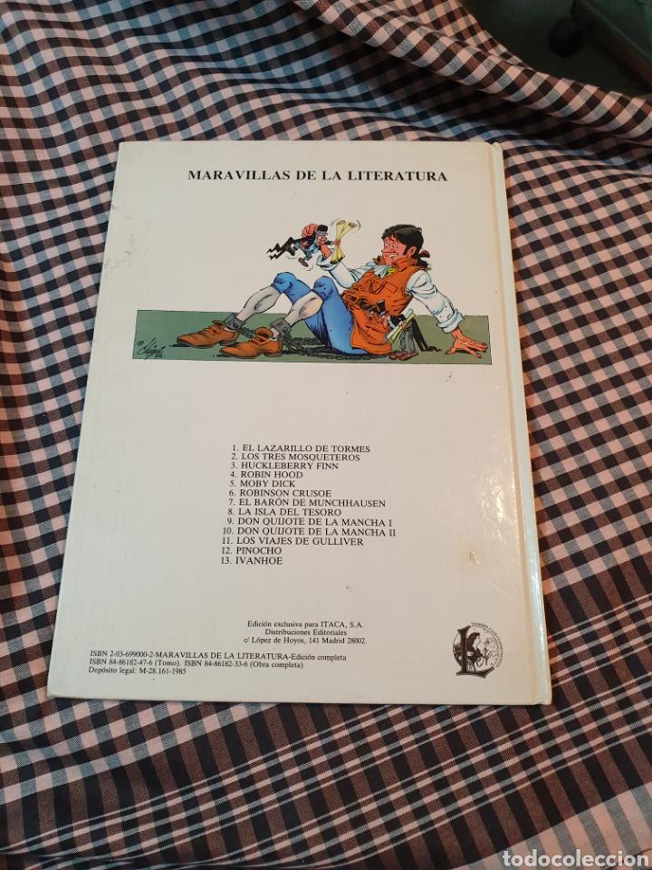 Libros: Los viajes de gulliver, editorial larousse, maravillas de la literatura n° 11.1985. - Foto 3 - 183278383