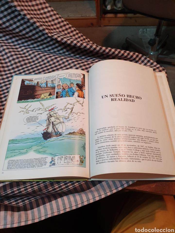 Libros: Los viajes de gulliver, editorial larousse, maravillas de la literatura n° 11.1985. - Foto 4 - 183278383