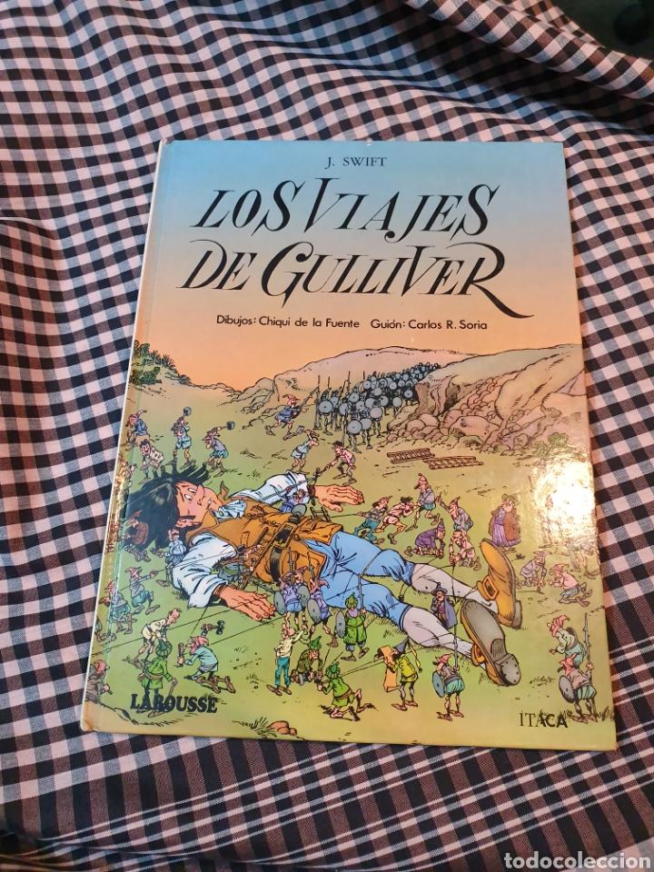 Libros: Los viajes de gulliver, editorial larousse, maravillas de la literatura n° 11.1985. - Foto 2 - 183278383