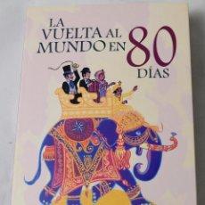 Libros: LA VUELTA AL MUNDO EN 80 DÍAS. JULIO VERNE.. Lote 184927510