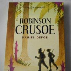 Libros: ROBINSON CRUSOE. DANIEL DEFOE.. Lote 184927720