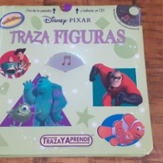 Libros: AUDIO LIBRO - DISNEY - PIXAR - TRAZA FIGURAS- CD. Lote 186735091