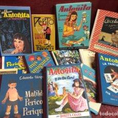 Libros: LOTE DE CUENTOS ANTIGUOS FACSÍMIL. Lote 187538812