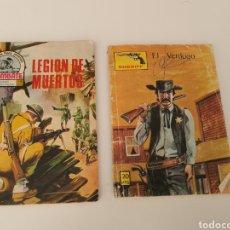 Libros: NOVELAS ANTIGUAS LEGIÓN DE LOS MUERTOS Y EL VERDUGO. Lote 190045573