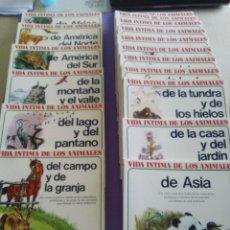 Livros: VIDA INTIMA DE LOS ANIMALES GRAN LOTE NUMEROS 2-3-4-6-7-8-11-12-13-14-15-19-20-21-22-23 Y 24. Lote 191100830