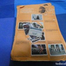 Libros: RESTOS DE ALBUM CROMOS RETORNO DEL JEDI PACOSA DOS: 95 CROMOS PEGADOS 25 DESPEGADOS . Lote 191685573