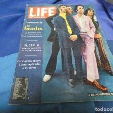 Libros: BONITA REVISTA LIFE EN ESPAÑOL CON PRECIOSA PORTADA DE LOS BEATLES. Lote 191696320