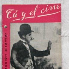 Libros: TÚ Y EL CINE CESAR AGUILERA COLECCION ALTAMAR Nº16 16 PP. MADRID 1957. Lote 194065036
