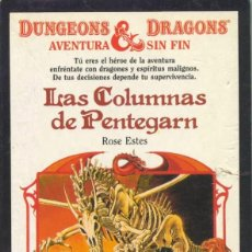 Libros: LAS COLUMNAS DE PENTEGARN - COLECCIÓN DRAGONES Y MAZMORRAS . Lote 196366615