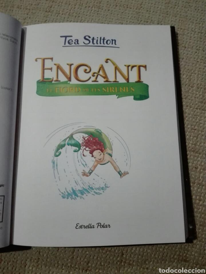 Libros: Tea Stilton. Encant. El fiord de les sirenes. Comic en catalán. Estrella polar. 2020 - Foto 3 - 196817968