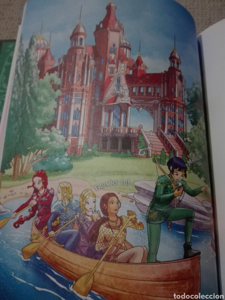 Libros: Tea Stilton. Encant. El fiord de les sirenes. Comic en catalán. Estrella polar. 2020 - Foto 6 - 196817968