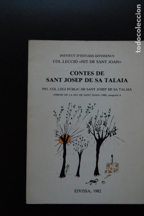 6- CONTES DE SANT JOSEP DE SA TALAIA - EIVISSA, 1982 (Libros Nuevos - Literatura Infantil y Juvenil - Cuentos juveniles)
