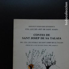 Libros: 6- CONTES DE SANT JOSEP DE SA TALAIA - EIVISSA, 1982. Lote 198928226