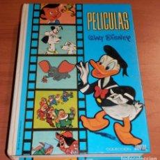 Livres: UN LIBRO ANTIGUO DE LA COLECCIÓN JOVIAL - 1º TOMO - AÑO 1981 TITULO --PELICULAS WALT DISNEY. Lote 199448782