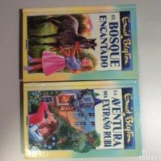 Libros: LOTE DE DOS LIBROS DE GRID BLYTON. EL BOSQUE ENCANTADO, LA AVENTURA DEL EXTRAÑO RUBÍ. Lote 204449021