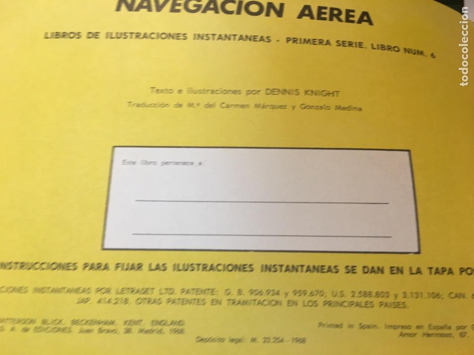 Libros: Libro de Ilustraciones instantáneas Navegación Aérea Número. 9 Aguilar - Foto 2 - 204514228