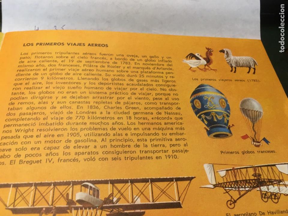Libros: Libro de Ilustraciones instantáneas Navegación Aérea Número. 9 Aguilar - Foto 3 - 204514228
