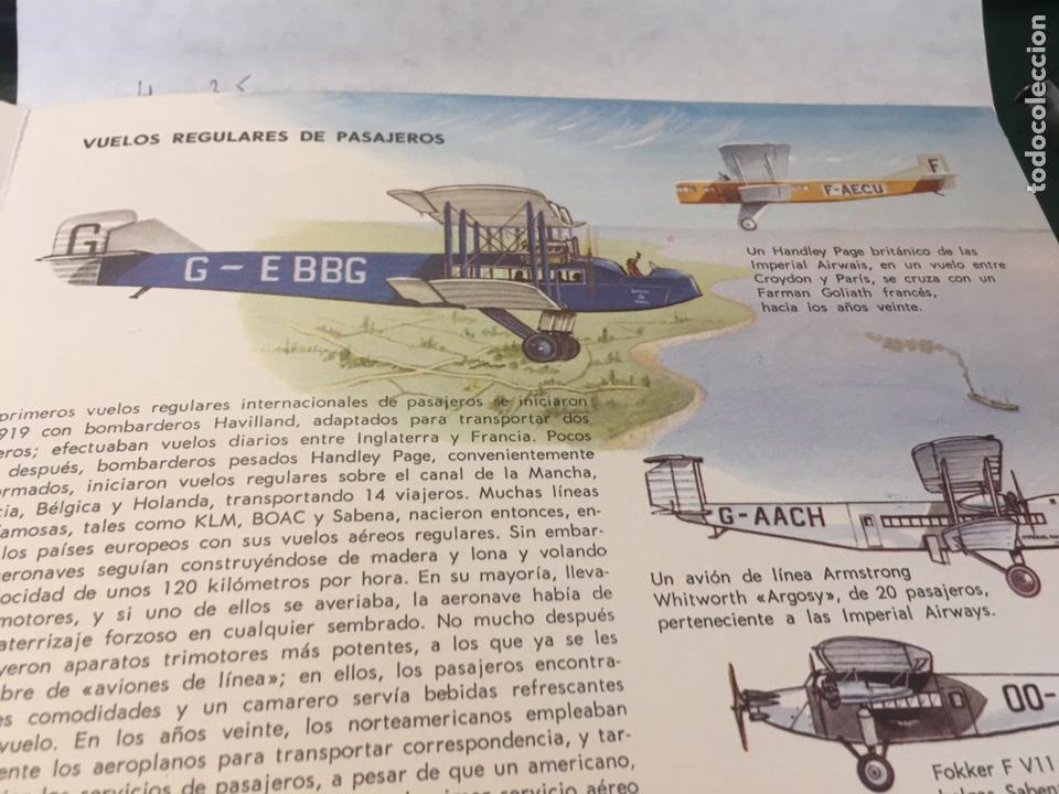 Libros: Libro de Ilustraciones instantáneas Navegación Aérea Número. 9 Aguilar - Foto 5 - 204514228