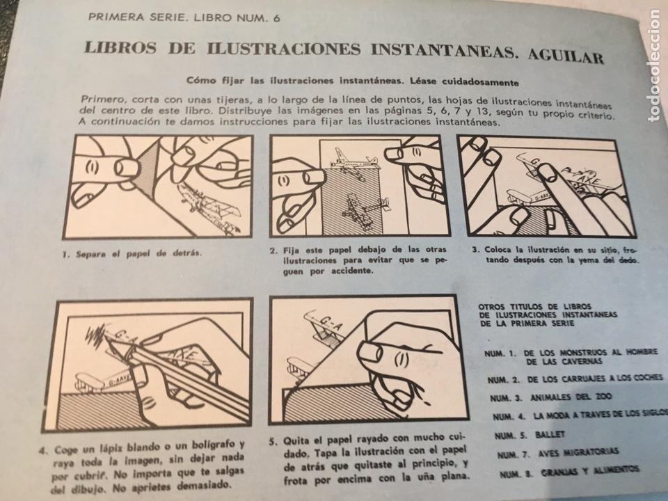 Libros: Libro de Ilustraciones instantáneas Navegación Aérea Número. 9 Aguilar - Foto 17 - 204514228