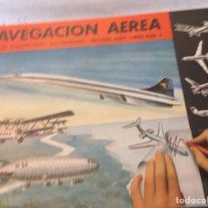 Libros: LIBRO DE ILUSTRACIONES INSTANTÁNEAS NAVEGACIÓN AÉREA NÚMERO. 9 AGUILAR. Lote 204514228
