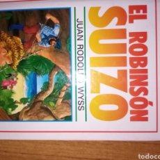 Libros: EL ROBINSON SUIZO(DE RODOFO WYSS). Lote 206277582