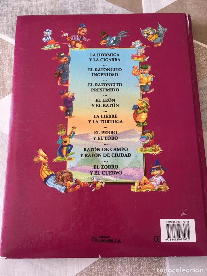 Libros: LAS MEJORES FÁBULAS TOMO 1 I - EDICIONES SALDAÑA - Foto 2 - 206344335