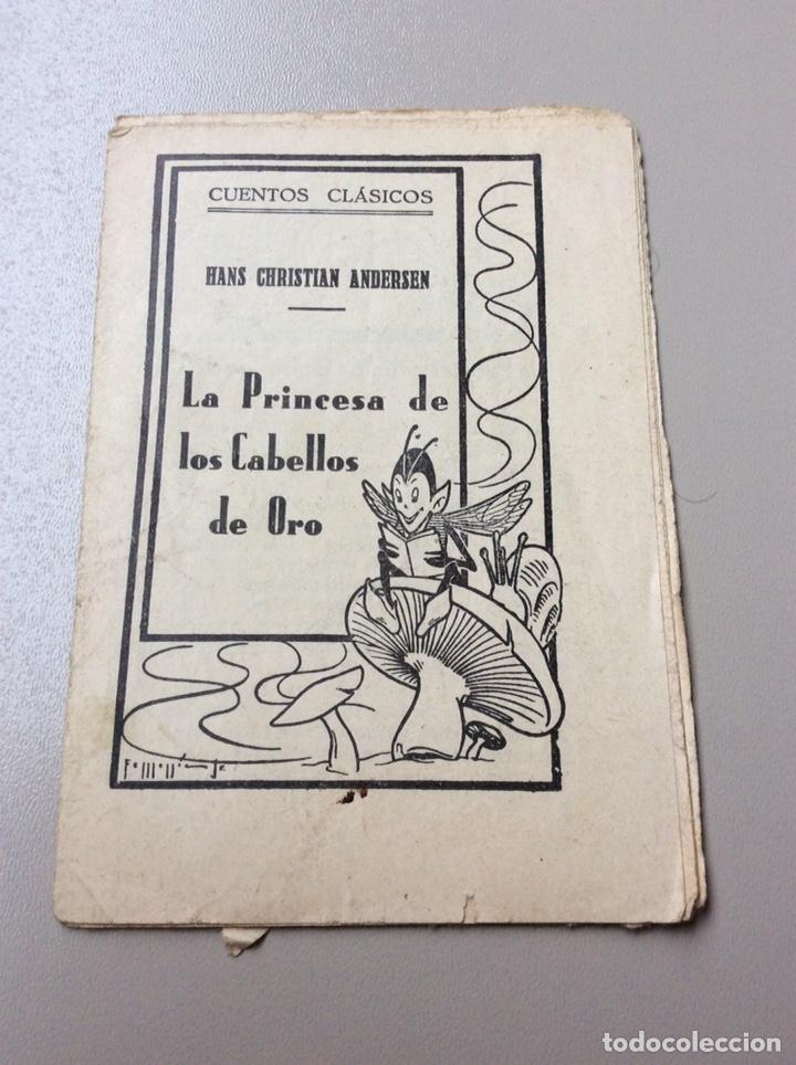CUENTO LA PRINCESA DE LOS CABELLOS DE ORO (Libros Nuevos - Literatura Infantil y Juvenil - Cuentos juveniles)