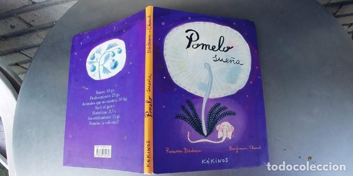 POMELO SUEÑA RAMONA BADESCU,BENJAMIN CHAUD,AÑO 2005,EDICION KIKINOS,TAPA DE CARTON FINO, (Libros Nuevos - Literatura Infantil y Juvenil - Cuentos juveniles)