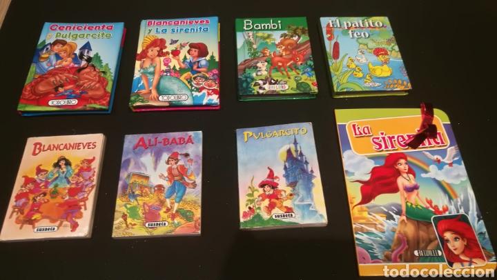 LOTE DE MINI LIBROS DE DISNEY (Libros Nuevos - Literatura Infantil y Juvenil - Cuentos juveniles)