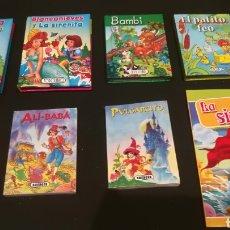 Libros: LOTE DE MINI LIBROS DE DISNEY. Lote 210124580
