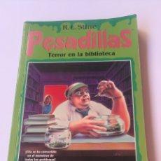 Libros: PESADILLA TERROR EN LA BIBLIOTECA. Lote 211920027