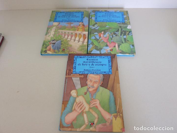 JAMES RIORDAN. CUENTOS MARAVILLOSOS DE HOY Y DE SIEMPRE. TOMO I II Y III. PLAZA JOVEN (Libros Nuevos - Literatura Infantil y Juvenil - Cuentos juveniles)
