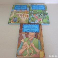 Livres: JAMES RIORDAN. CUENTOS MARAVILLOSOS DE HOY Y DE SIEMPRE. TOMO I II Y III. PLAZA JOVEN. Lote 214009681