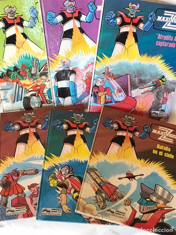 COLECCION COMPLETA LIBROS MAZINGER Z (Libros Nuevos - Literatura Infantil y Juvenil - Cuentos juveniles)